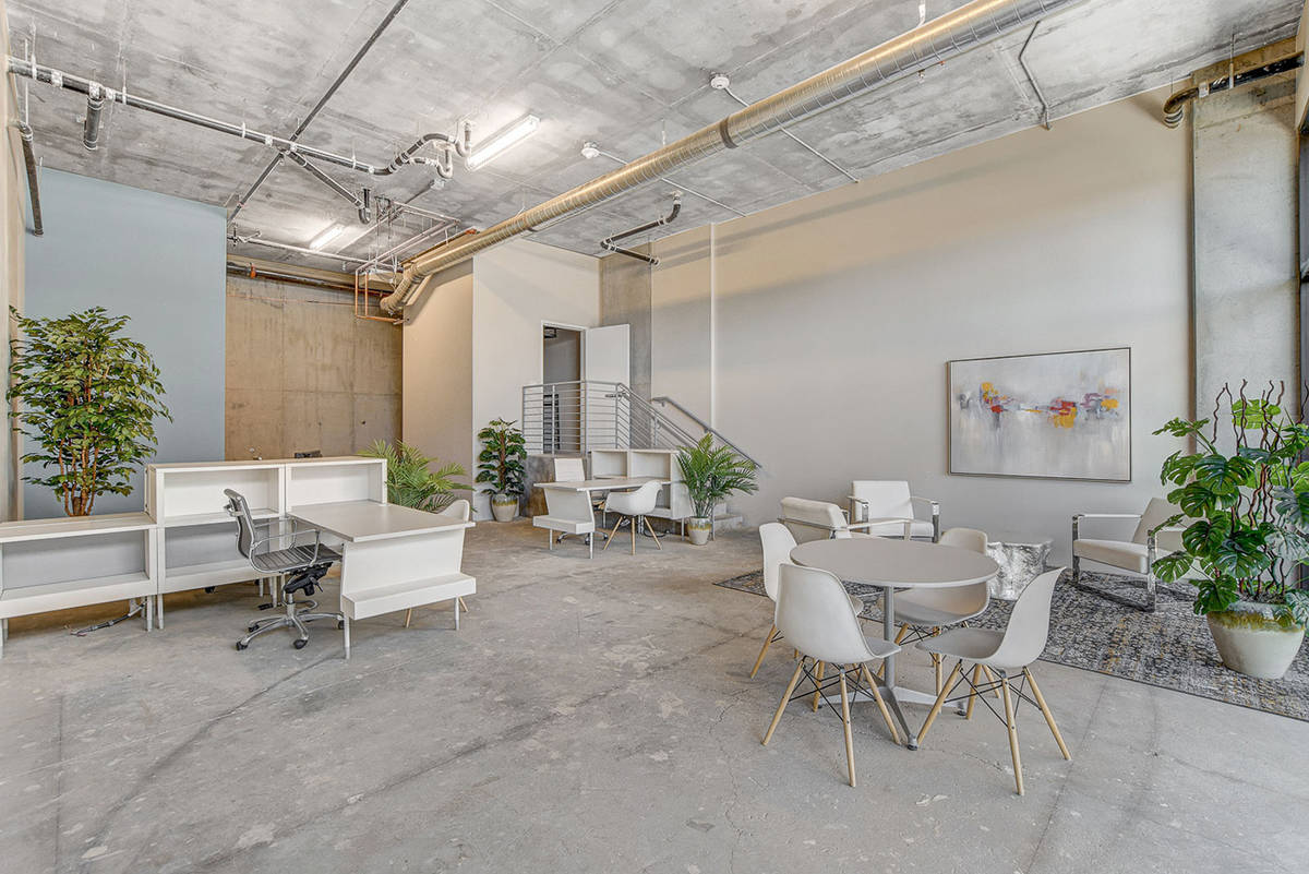 Juhl is a 344-residence, loft-style community that spans an entire city block in downtown Las V ...