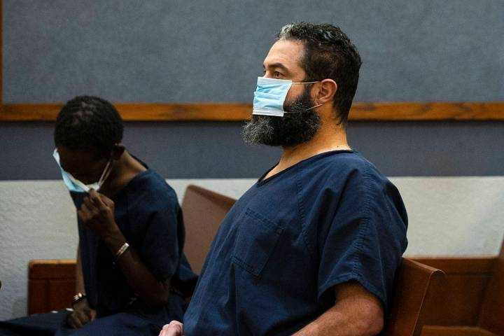 Jordan Barson, charged in the deaths of five bicyclists, appears in court at the Regional Justi ...