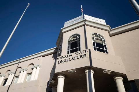 The Nevada State Legislature Building at the state Capitol in Carson City (Benjamin Hager/Las V ...
