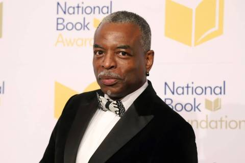 LeVar Burton attends the 70th National Book Awards ceremony in New York on Nov. 20, 2019. (Phot ...