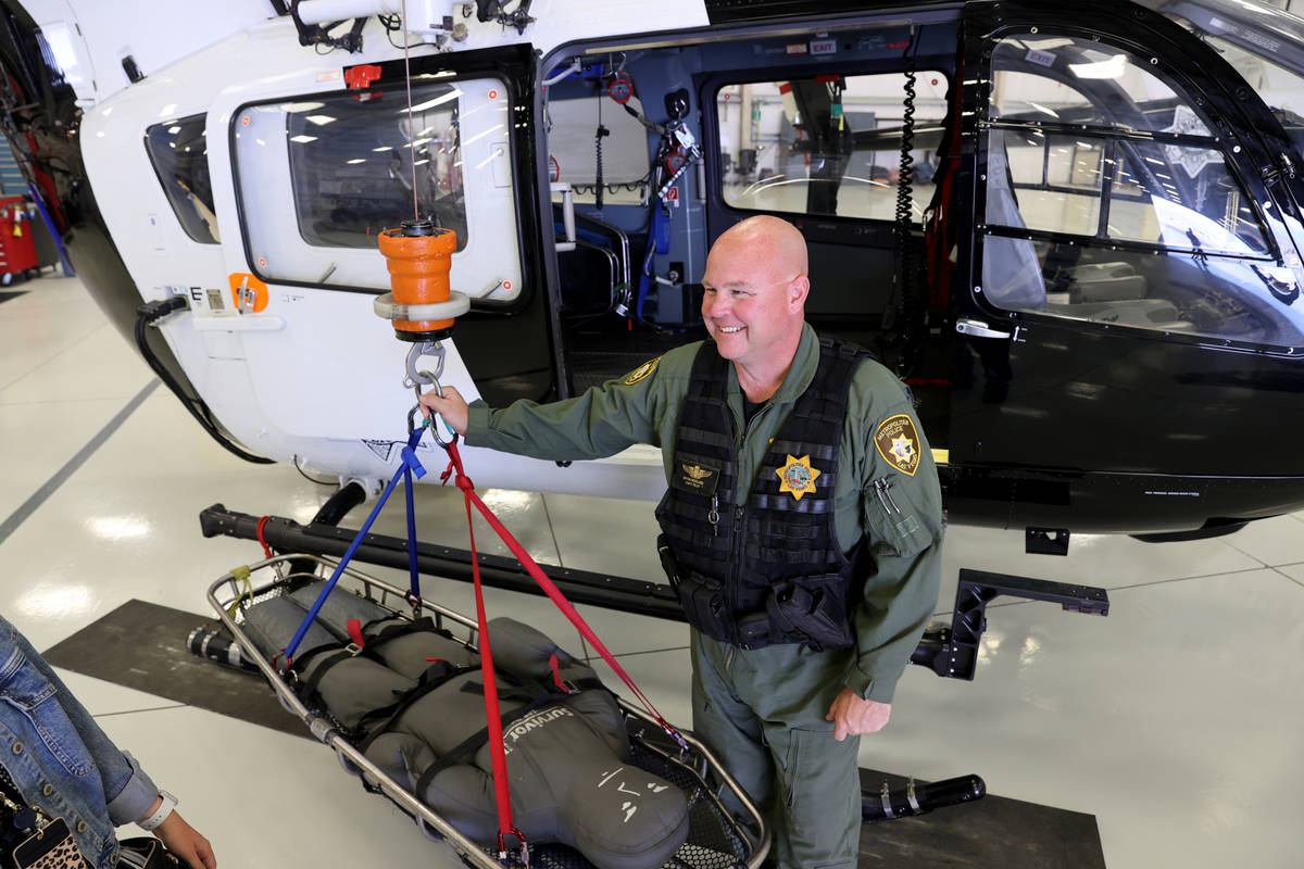Bryan Woolard, chief pilot for the Metropolitan Police Department air support search and rescue ...