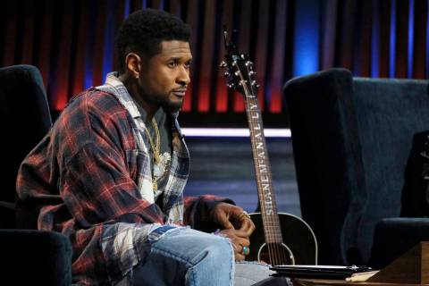 "Usher is shown in the series ""Songland"" episode 210. The recording star is due to headline the ..."