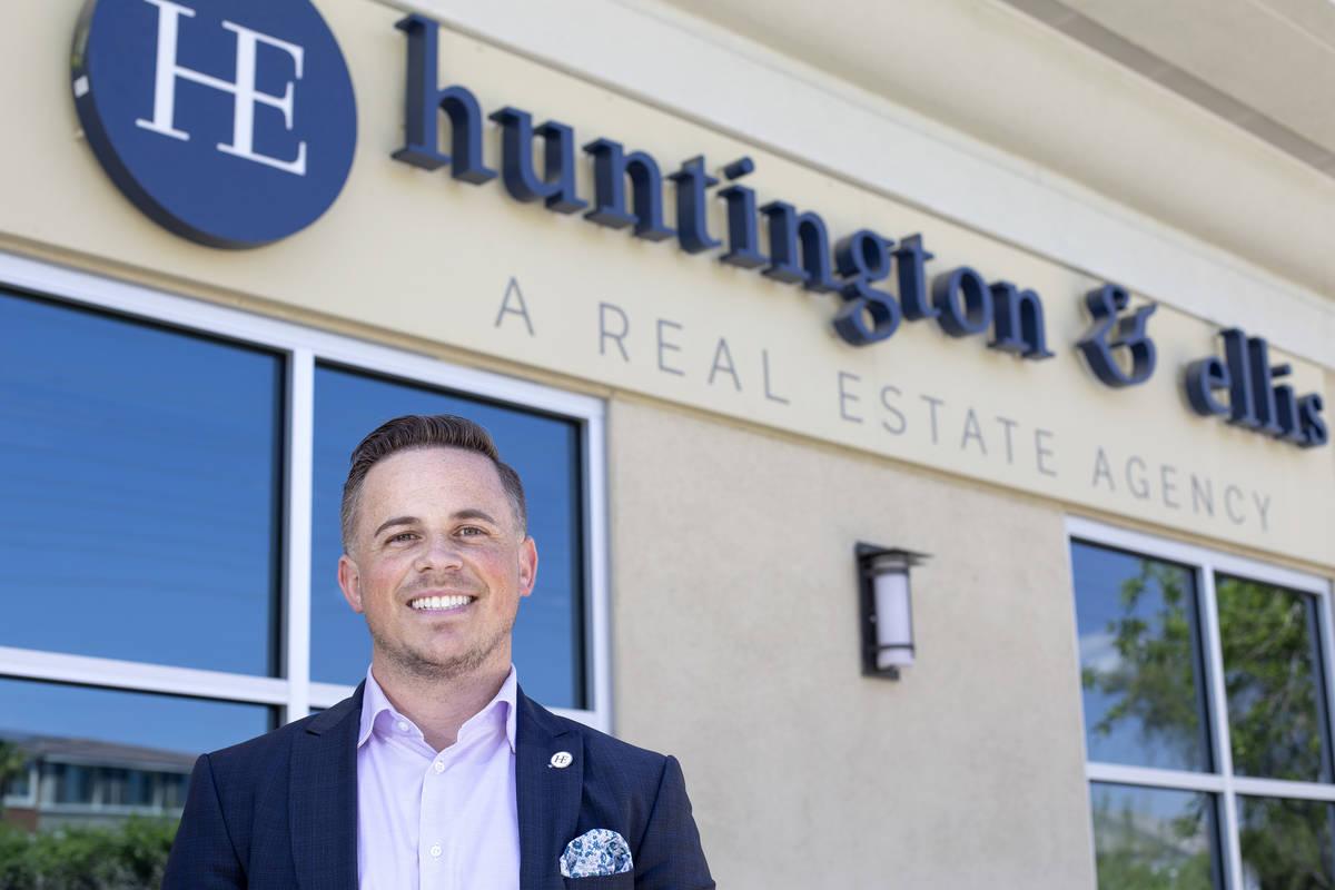 Las Vegas real estate broker Craig Tann at his real estate agency, Huntington and Ellis, on Fri ...