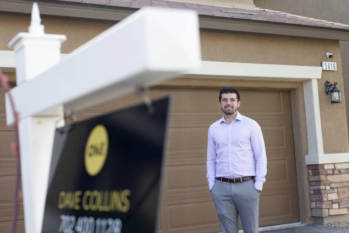 Jordan Rodriguez outside his home on Saturday, April 24, 2021, in Las Vegas. Rodriguez is selli ...