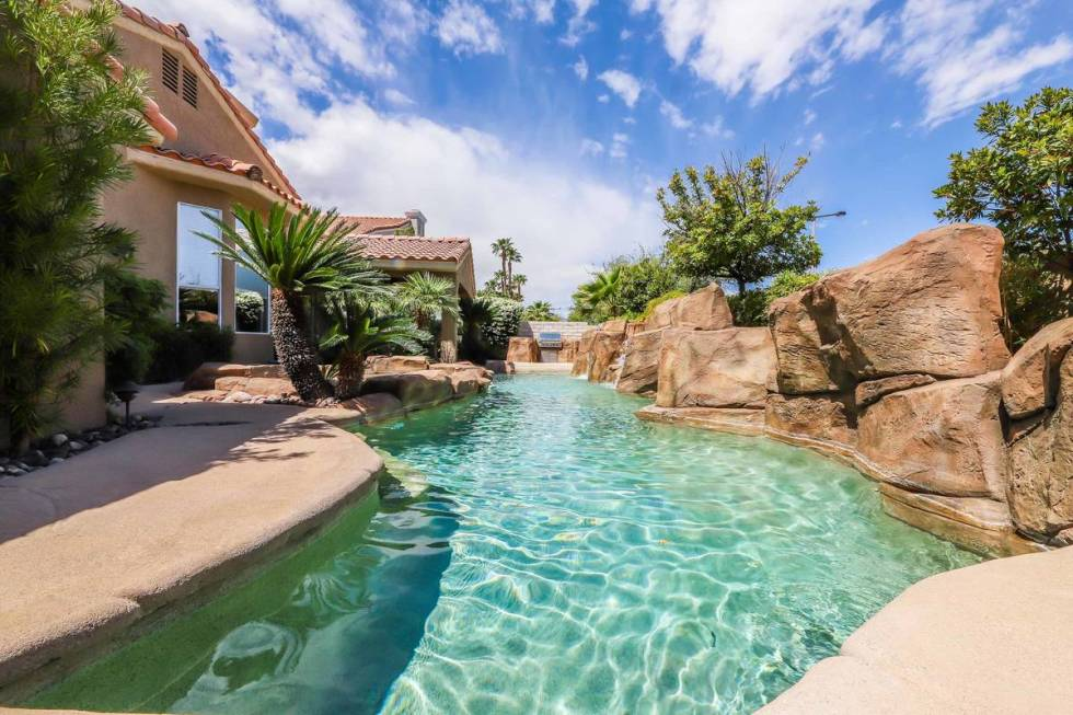 The pool at 8812 Saint Pierre Drive. (SugarMill Studios)
