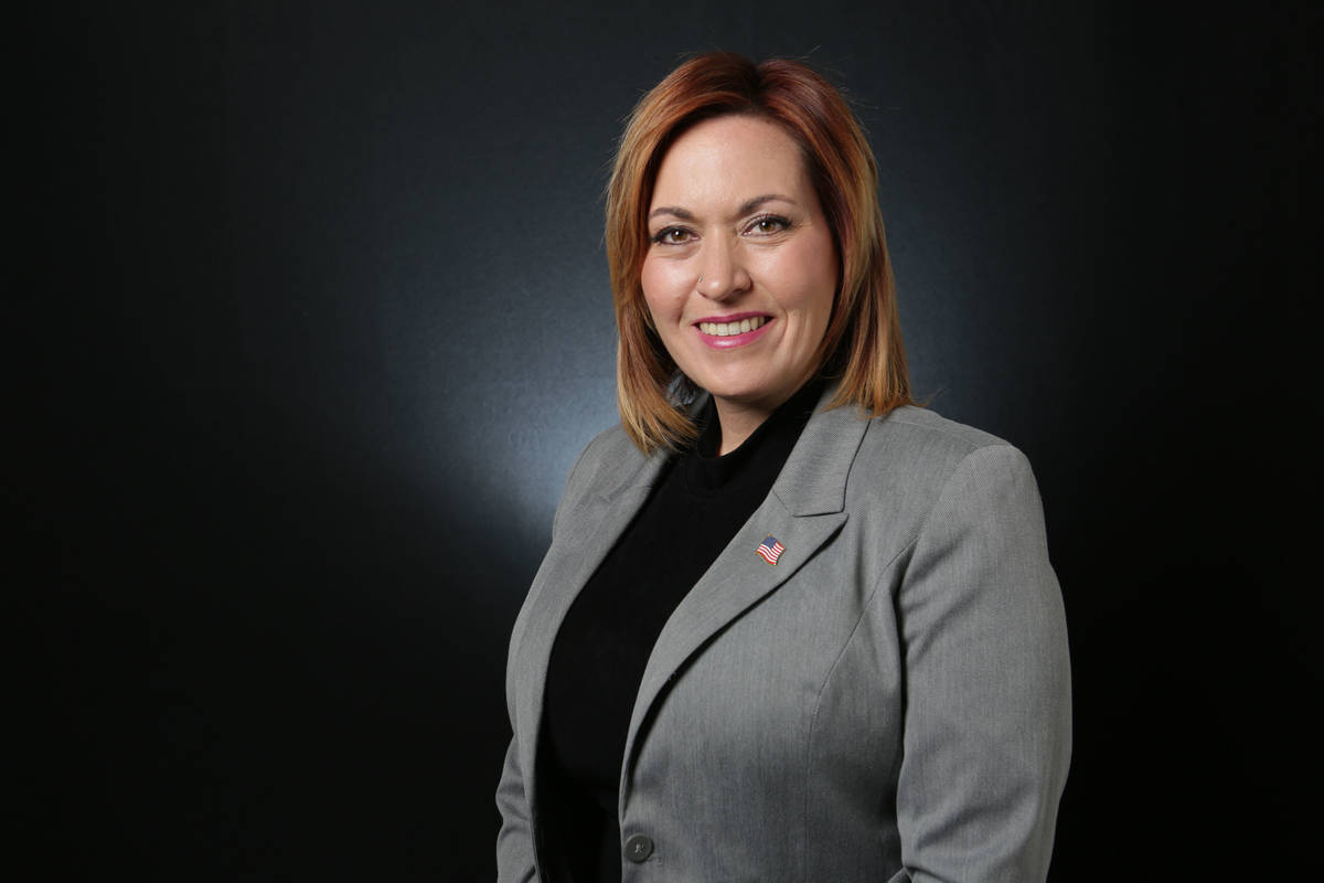 Amy Vilela (Michael Quine/Las Vegas Review-Journal @Vegas88s)