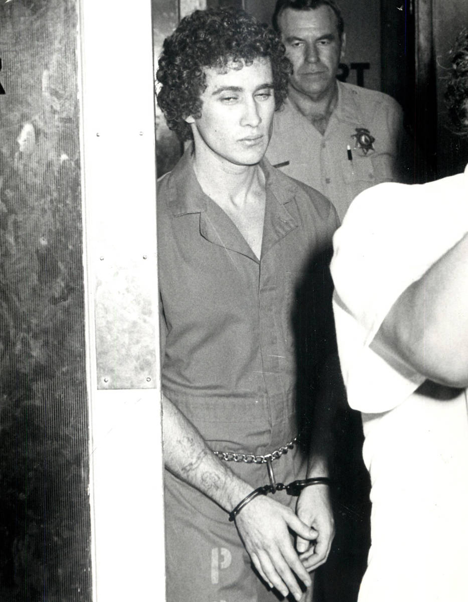 This 1979 file photo shows Pat McKenna, known as Nevadaճ most dangerous inmate, who kille ...