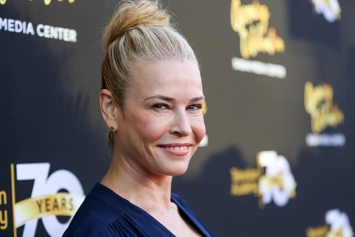 Chelsea Handler arrives at the Television Academy's 70th Anniversary at The Television Academy ...