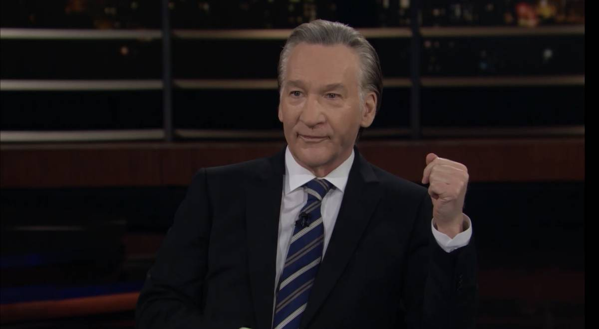 "Bill Maher is shown in screen catch during the broadcast of HBO's ""Real Time With Bill Maher"" o ..."