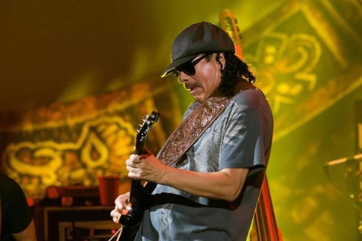 Carlos Santana performs at the Hard Rock Hotel in Las Vegas in 2010. (Las Vegas Review-Journal)
