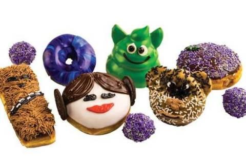 """""""Star Wars"""" doughnuts from Pinkbox. (Pinkbox Doughnuts)"""