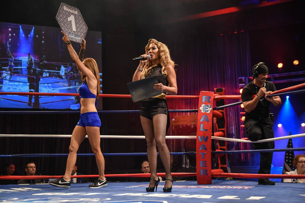 Mixed Martial Arts fighter and announcer Lisa King is seen in this undated photo. (Courtesy Egl ...