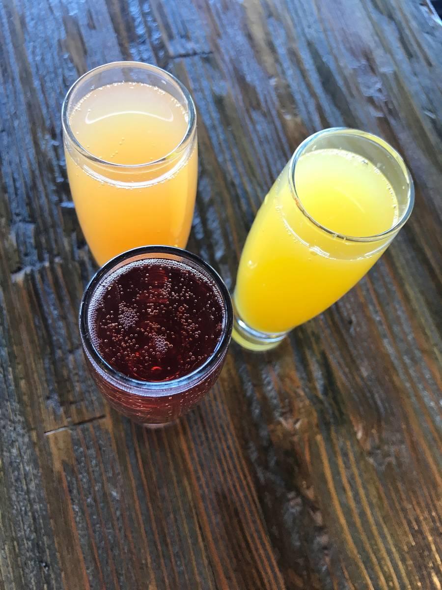 Mimosas at CraftKitchen in Henderson