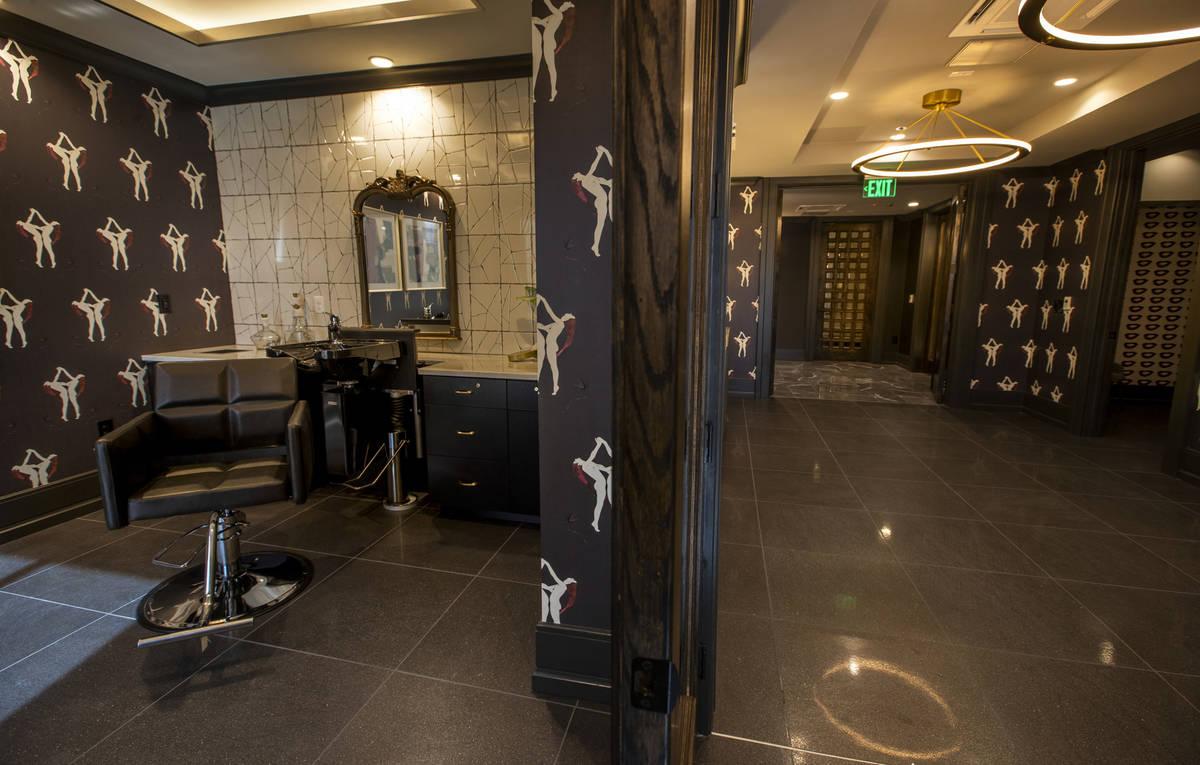 A salon and sauna area in Elysian at Tivoli, a newly built apartment complex across from Tivoli ...