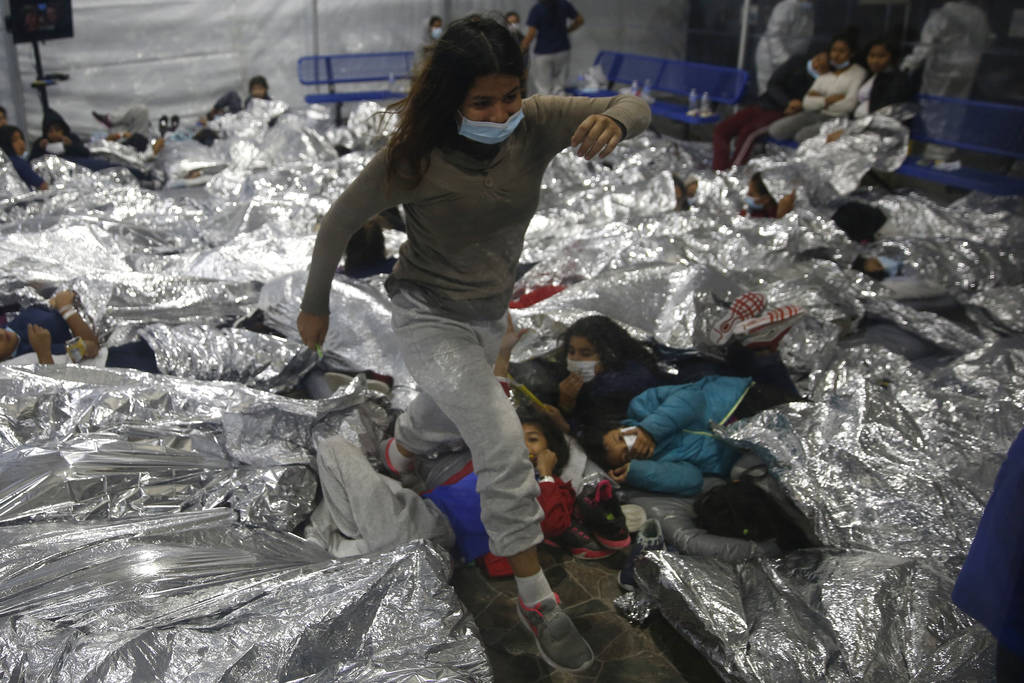 Minors are housed at the Donna Department of Homeland Security holding facility, the main deten ...