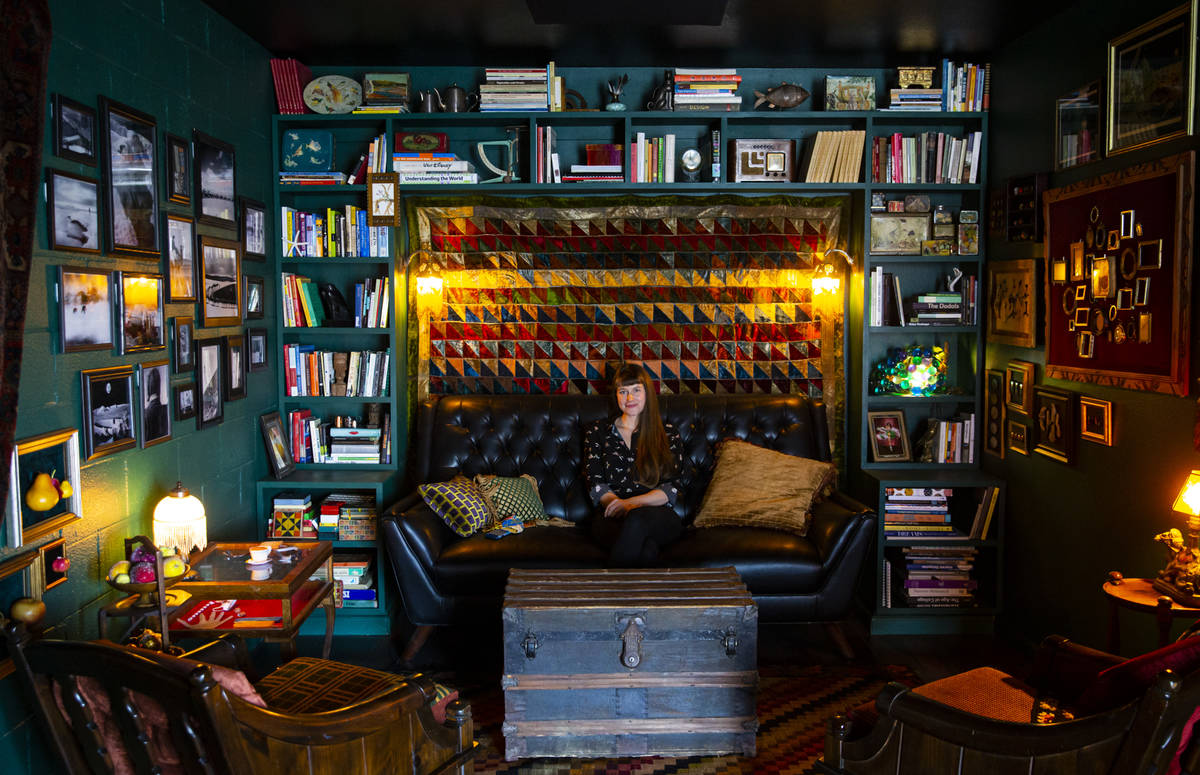Artist and filmmaker Jessica Oreck poses for a portrait at her new museum and studio space, the ...