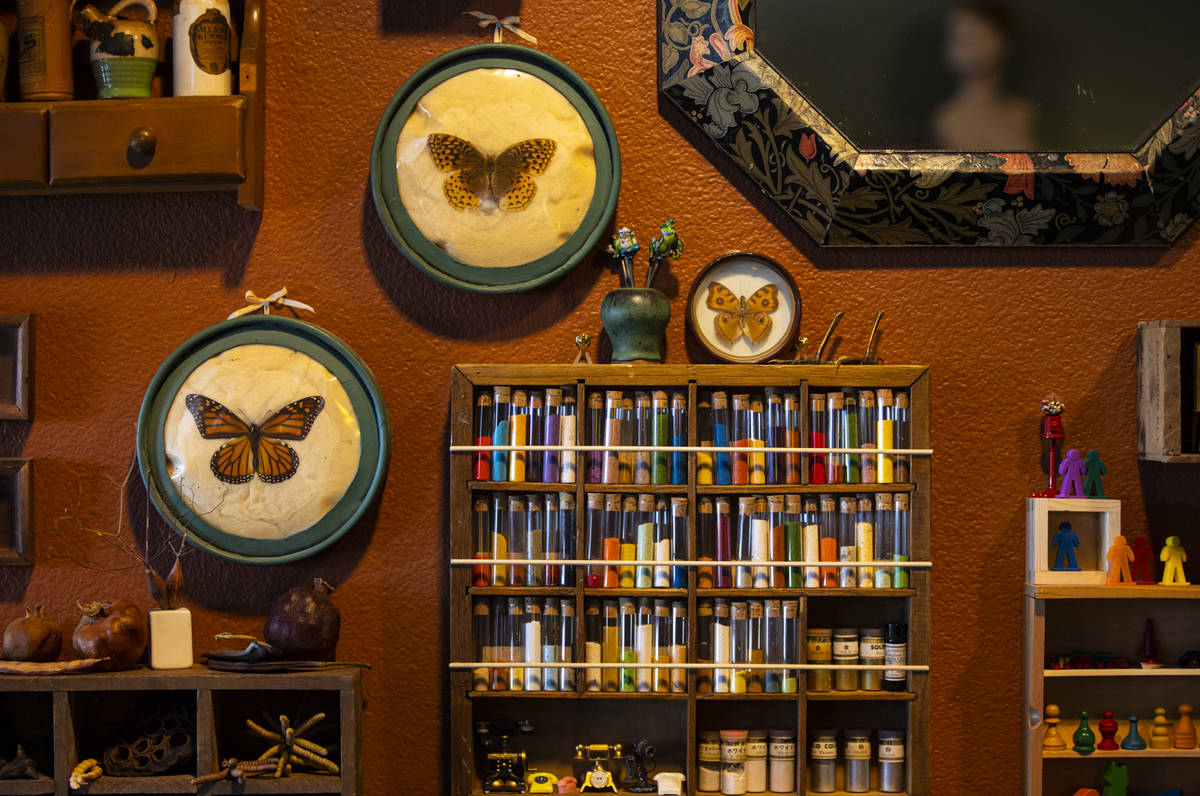 Collected items are displayed at the Office of Collecting & Design, a museum and studio spa ...