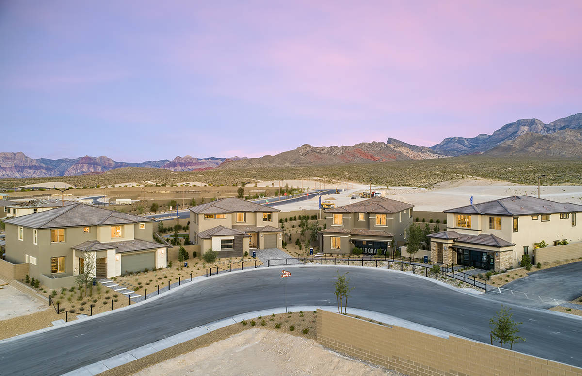 Starling is one of three Summerlin neighborhoods under development by Pulte Homes. Located in t ...