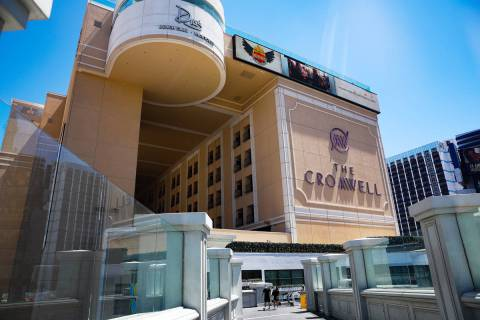 The Cromwell on the Strip in Las Vegas, Monday, May 3, 2021. (Rachel Aston/Las Vegas Review-Jou ...