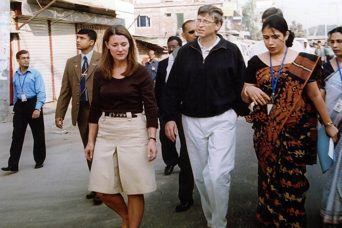 FILE - In this Dec. 5, 2005, file photo, Bill Gates, founder and chairman of Microsoft Corp., c ...