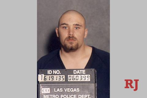 Zane Floyd police mug shot following his 1999 shooting spree (Metropolitan Police Department)