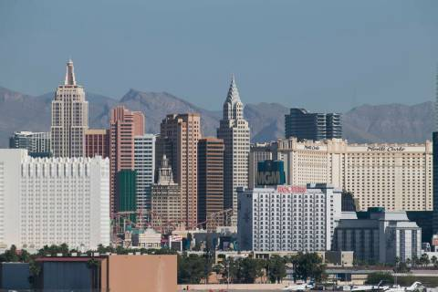 The Las Vegas Strip skyline. (Las Vegas Review-Journal)
