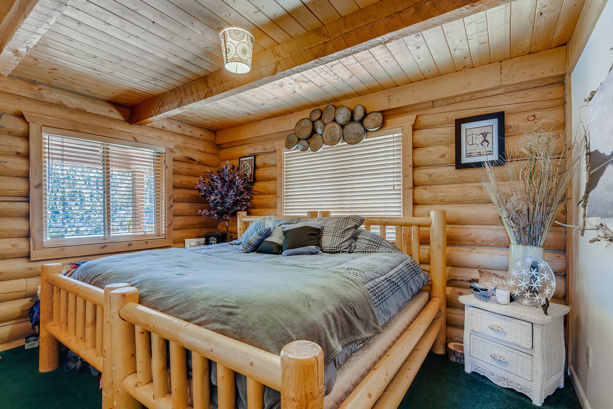 The bedroom of 4947 Snow White Road. (Virtuance)