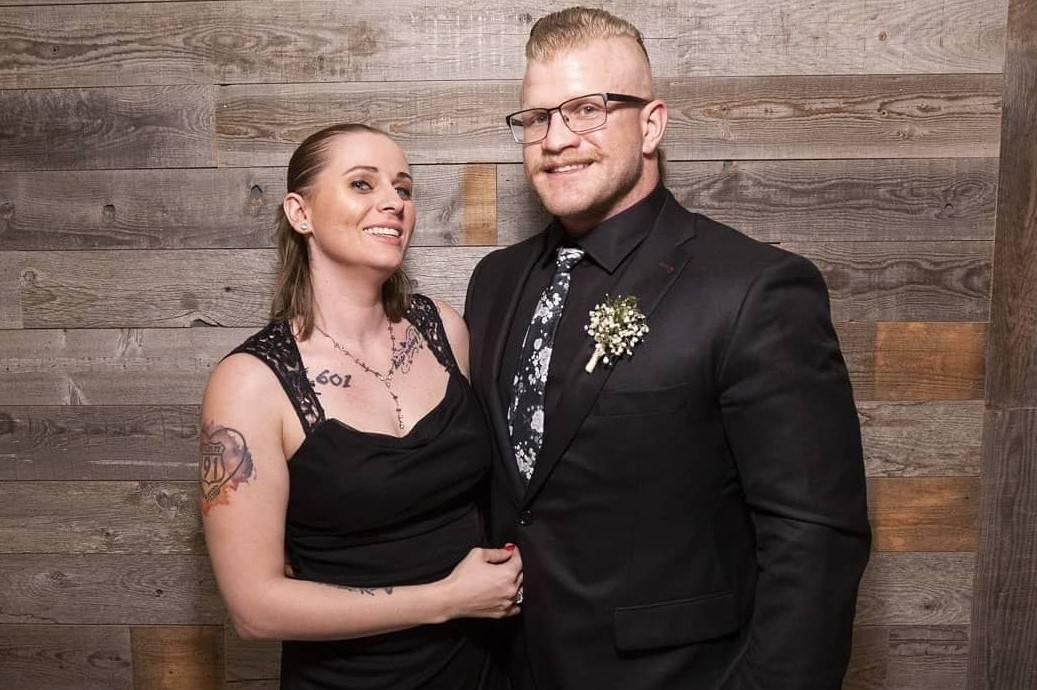 Kristi Gudaitis and Jeremy Bice, who were engaged to be married. (Photo courtesy Kristi Gudaitis)