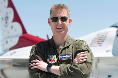 Lt.Col.JustinElliott willleadtheU.S. Air Force Thunderbirdsforthe2022 and 202 ...