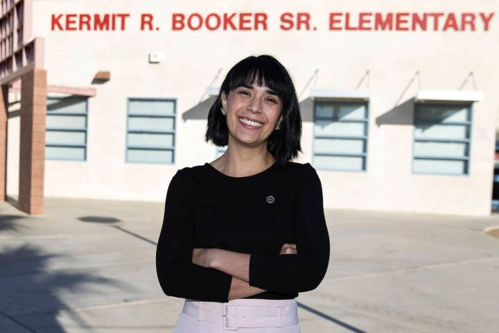 Juliana Urtubey, a learning strategist at Booker Sr. Innovative Elementary School, is seen in N ...