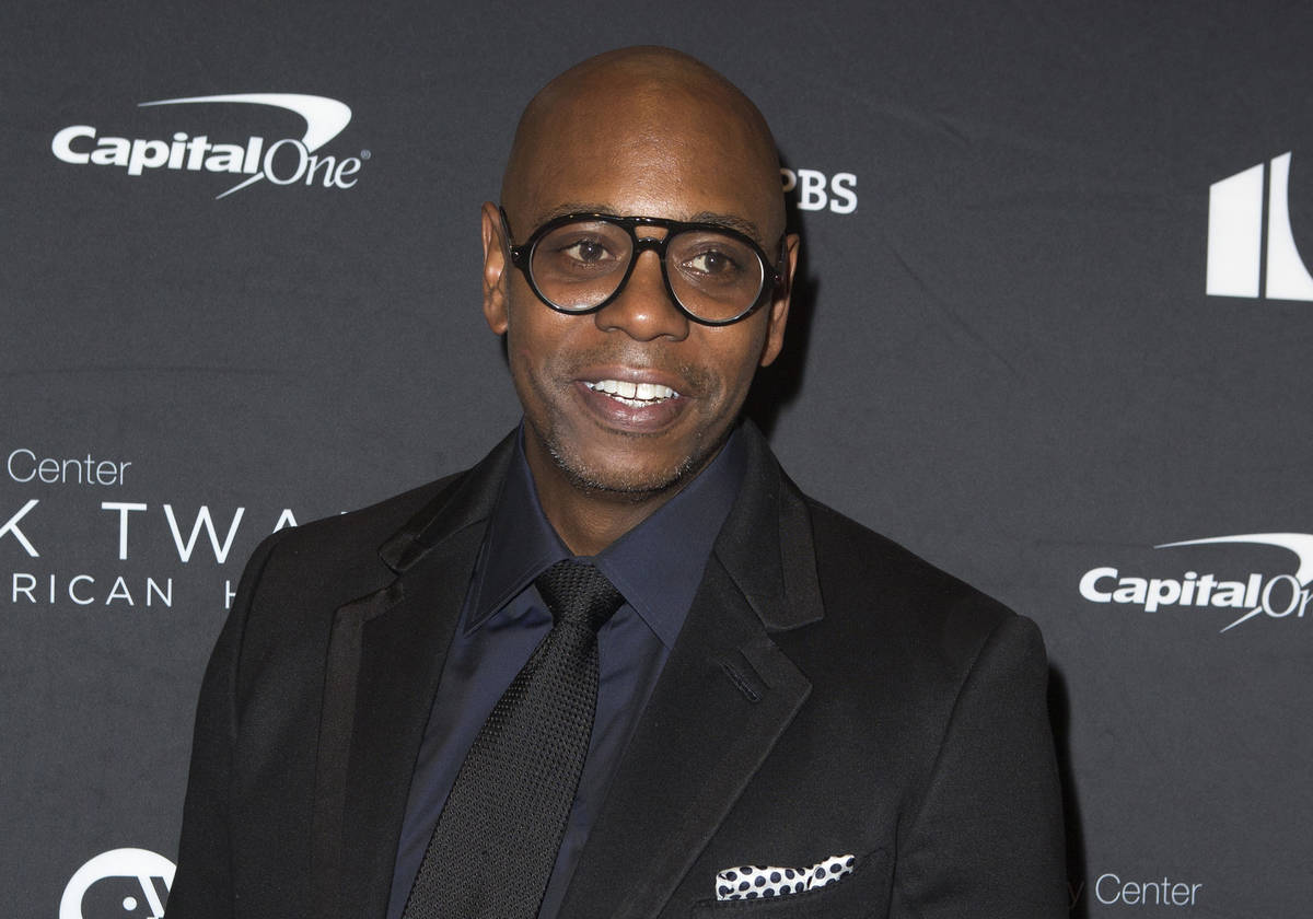 Dave Chappelle. (Photo by Owen Sweeney/Invision/AP, File)
