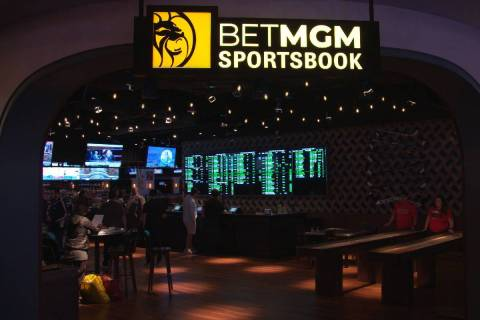 London-based Entain PLC, a British sports wagering company partnering with MGM Resorts Internat ...