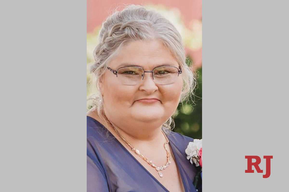 Indiana resident Shelley Voges, 53, was killed Jan. 22, 2021, when a tour bus from Las Vegas ro ...