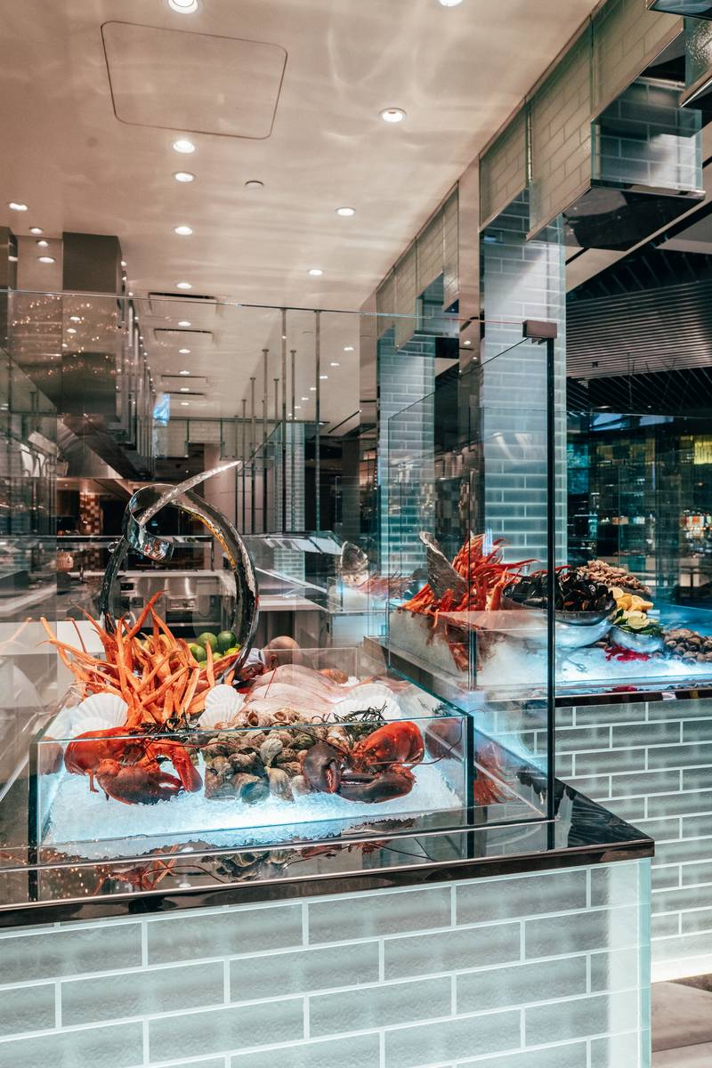 The Bacchanal Buffet underwent a multimillion-dollar renovation during the pandemic. (Caesars P ...