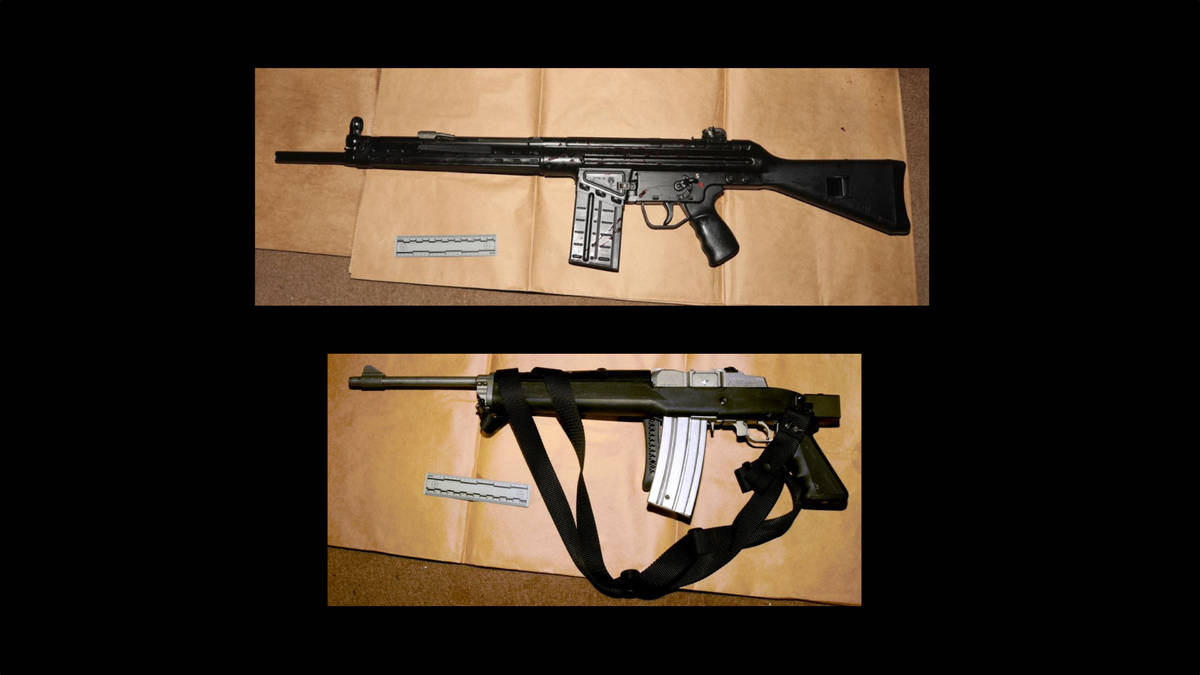 These are the rifles used by William Holt Jr., according to the Metropolitan Police Department. ...