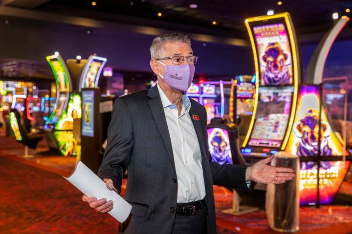 Joe Hasson, Mohegan Sun Casino Las Vegas general manager, talks about their contributions on th ...