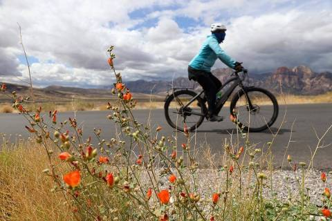 Bicycle riding might be a good way to beat the heat early Saturday, May 8, 2021. The high for t ...
