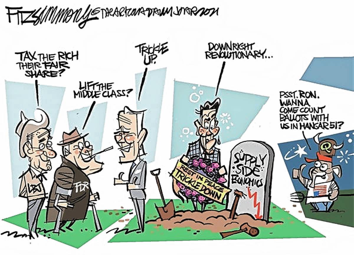 (David Fitzsimmons/The Arizona Star)