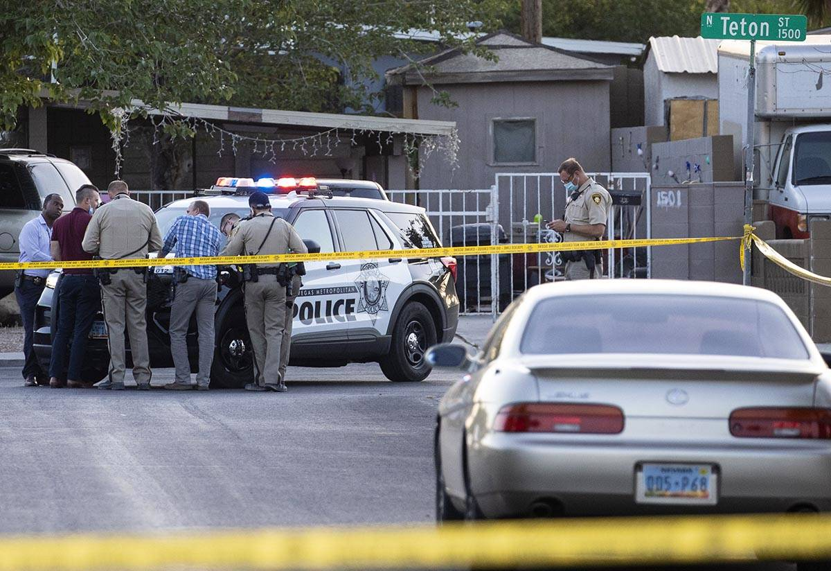 The Metropolitan Police Department is investigating a homicide at the 3200 block of Lava Avenue ...