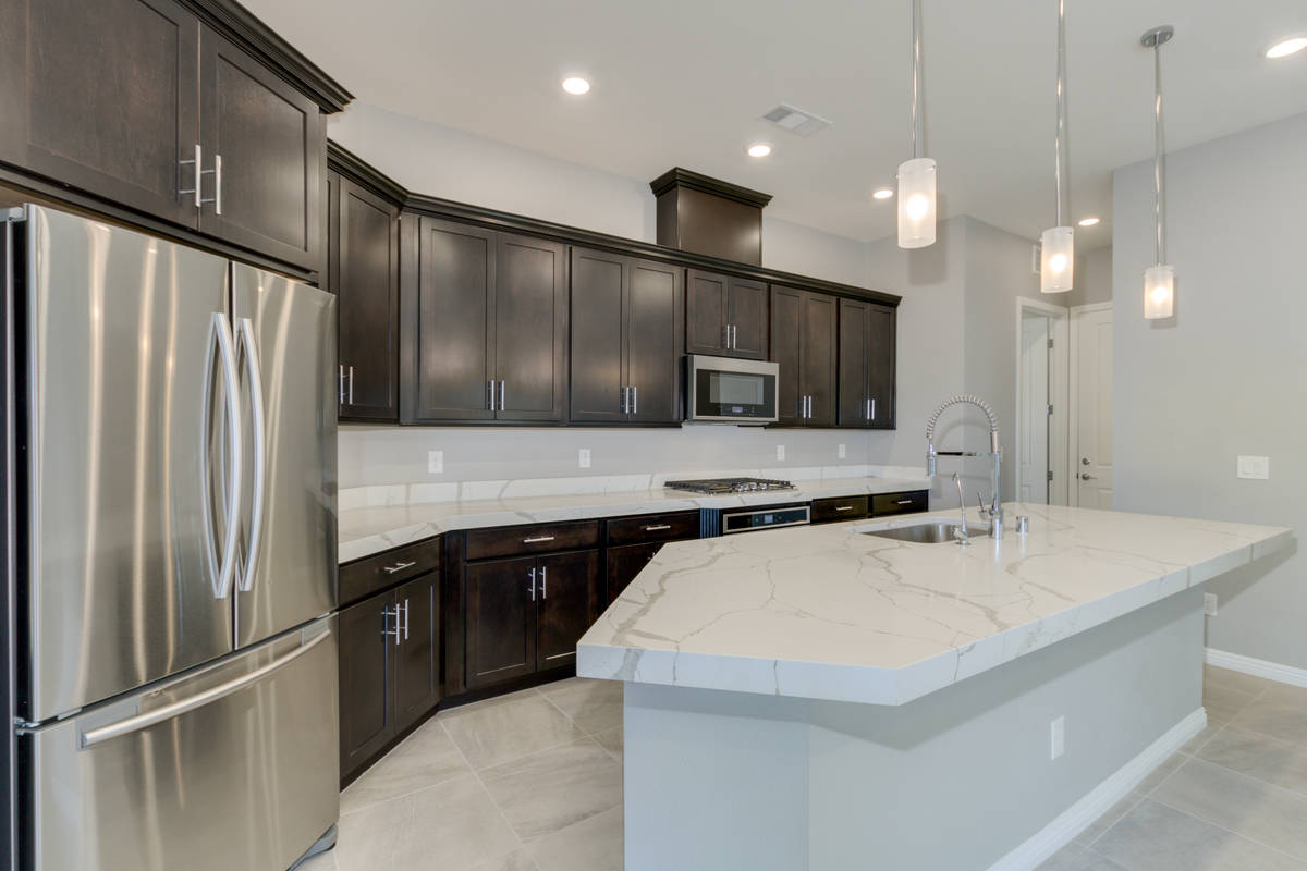 The kitchen at 865 Haven Oaks Place in Summerlin. (Rocket Lister)
