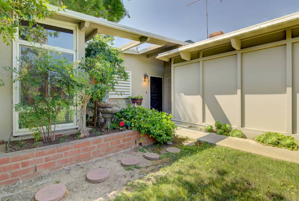The exterior of the home at 17964 Keswick St. in Reseda, Calif. (Luan Pernia/Luxury Video Tour)