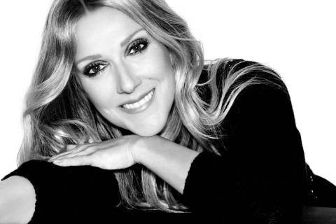 "Celine Dion is shown in a promotional photo for her ""Celine"" show at The Theatre at Resorts Wor ..."
