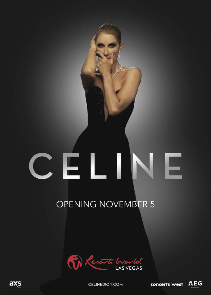 """Celine Dion is shown in a promotional photo for her """"Celine"""" show at The Theatre at Resorts Wor ..."""