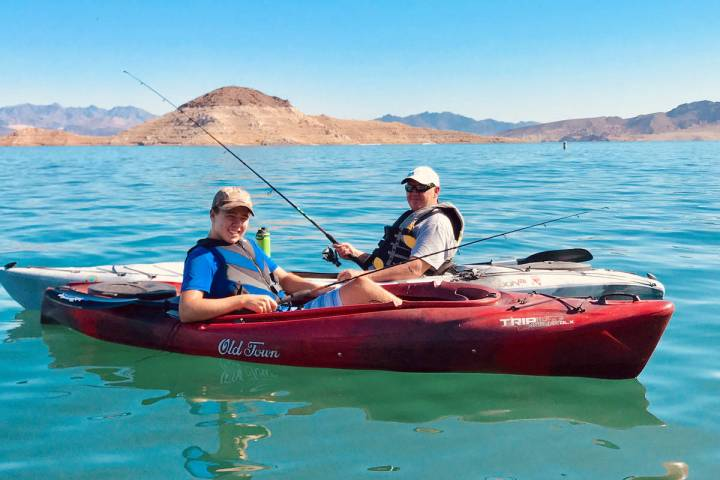 Mike Anderson, Henderson, takes the opportunity to share his love of fishing and kayaking with ...