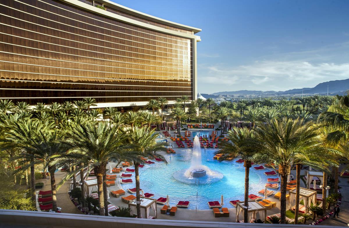 This April 12, 2021, file photo shows Red Rock Resort. (L.E. Baskow/Las Vegas Review-Journal) @ ...
