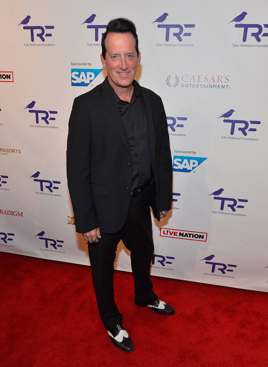 Hypnotist Anothony Cools arrives at the Tyler Robinson Foundation's fourth annual Believer Gala ...