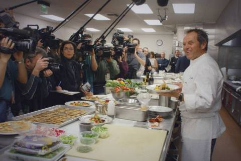 """Wolfgang,"" the feature documentary look at Wolfgang Puck, will debut June 25 on Disney+. ( ..."
