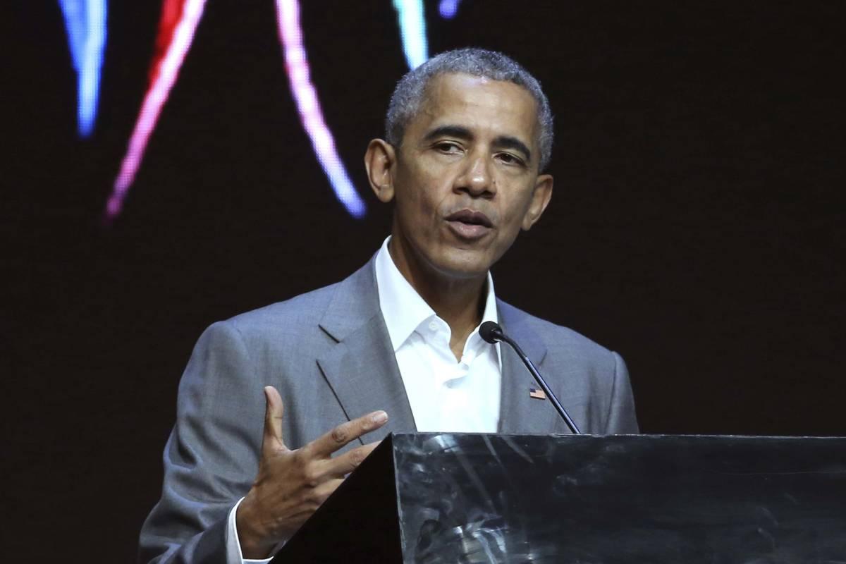 Former President Barack Obama. (AP Photo)