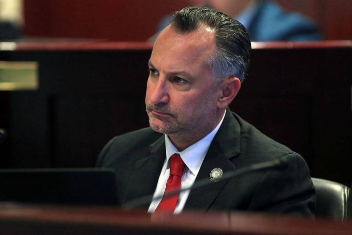 Sen. Chris Brooks, D-Las Vegas, seen in 2017. (Las Vegas Review-Journal)