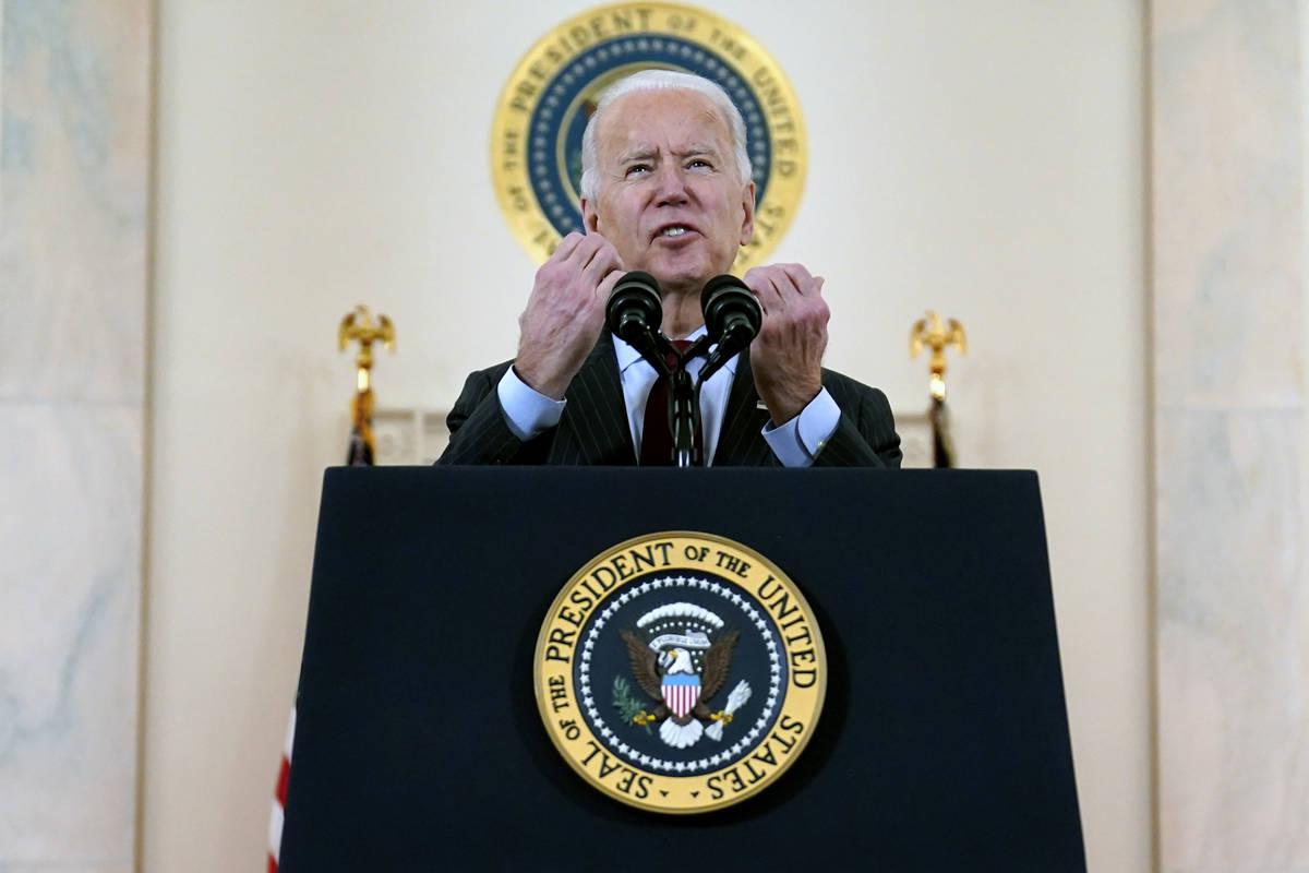 President Joe Biden. (AP Photo/Evan Vucci)